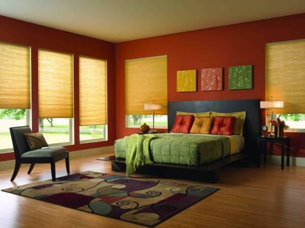 Comfortex Symphony Cellular - Bedroom