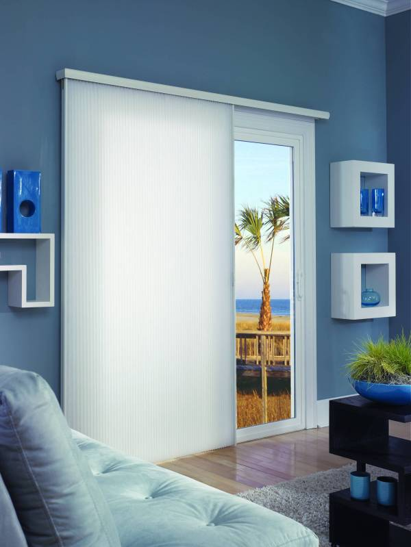Comfortex Cellular Slider - Patio Door