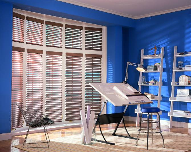 Comfortex Woodwinds Blinds Office
